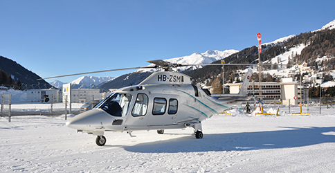 Helicopter Davos